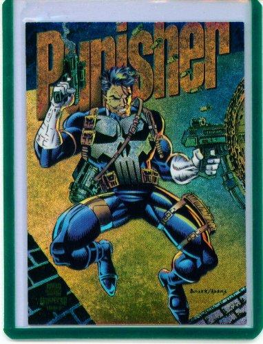 - 1994 Marvel Universe Power Blast Punisher Insert Card #2 of 9
