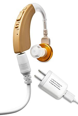 Amplificador digital NewEar de alta calidad. Nuevo modelo recargable: Amazon.es: Salud y cuidado personal