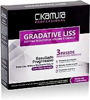Gradative Liss - Sistema Redutor de Volume e Cachos, C.Kamura, 270 ml