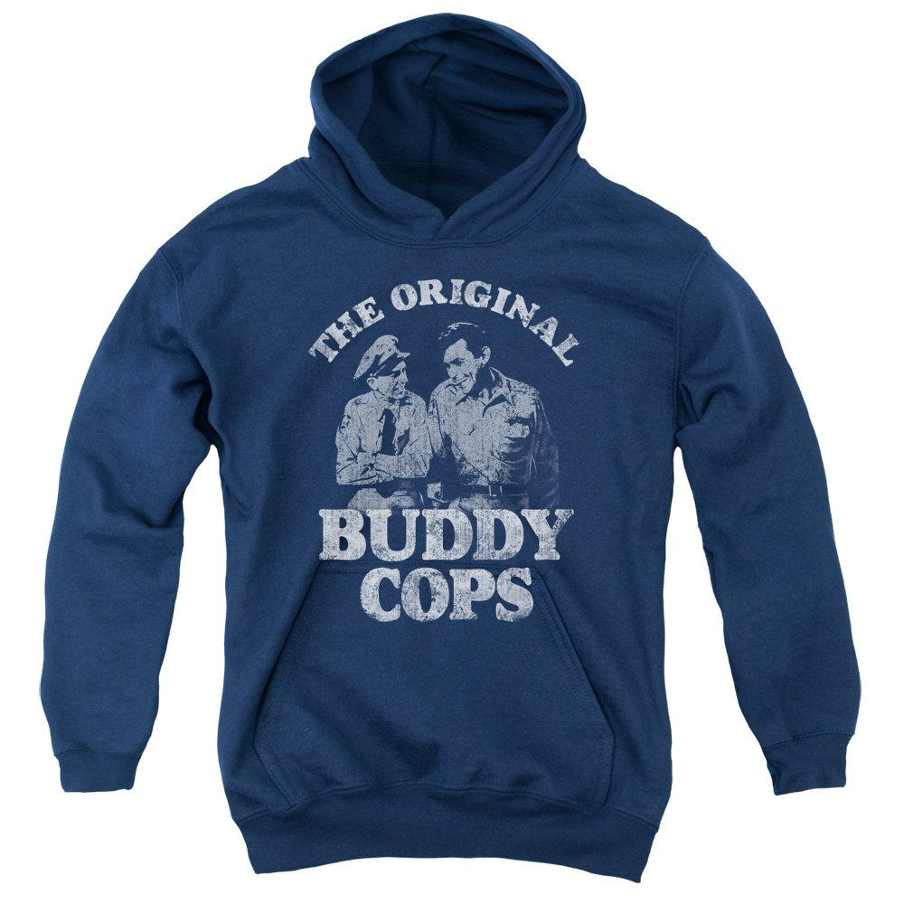 TeeShirtPalace The Andy Griffith Show Buddy Cops Kids Pull Over Hoodie