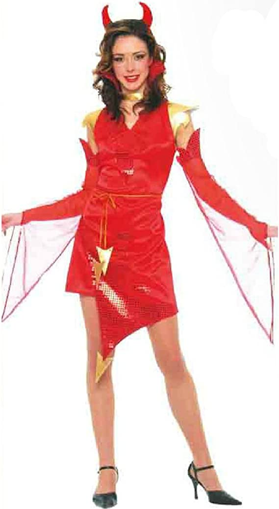 Disfrazzes - Disfraz barato de diablesa mujer para halloween ...