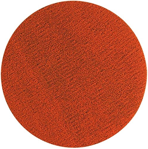 Chilewich Dot Shag Indoor/Outdoor Round Floor Mat Orange 24