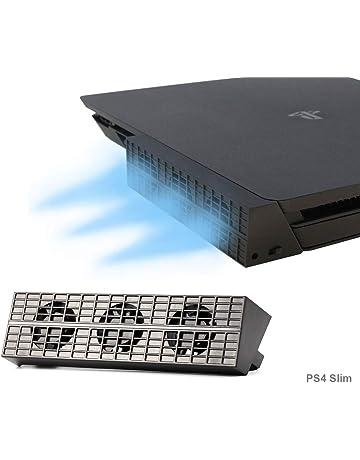 [Nueva edición] PS4 Slim Turbo refrigerador ventilador de refrigeración - PeakLead Control De La
