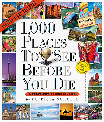 - 1,000 Places to See Before You Die Picture-A-Day Wall Calendar 2020