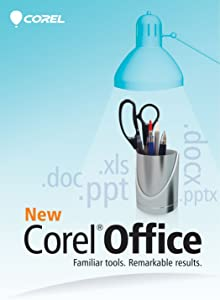 Corel Office 5 | Word Processor, Spreadsheets, Presentations, Cloud Support & Sharing | 3 User License [PC Download]