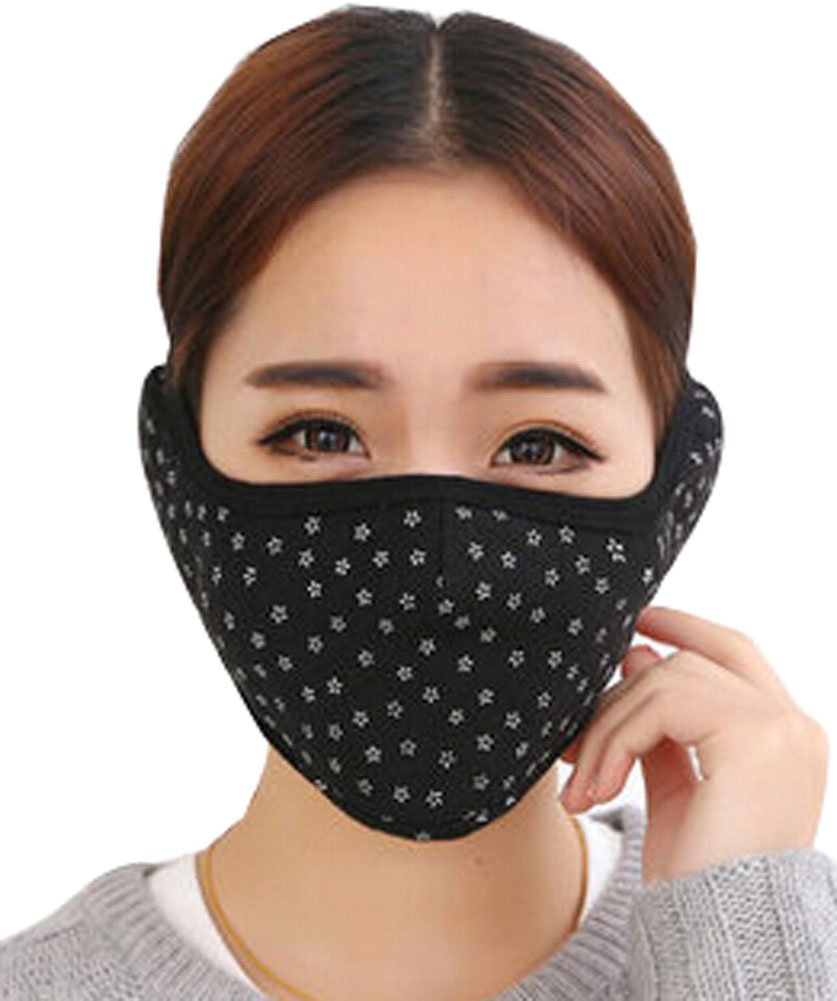Alien Storehouse Practical Fashion Cotton Winter Outdoor Cycling Masks Ski Mask Warm Mask Black