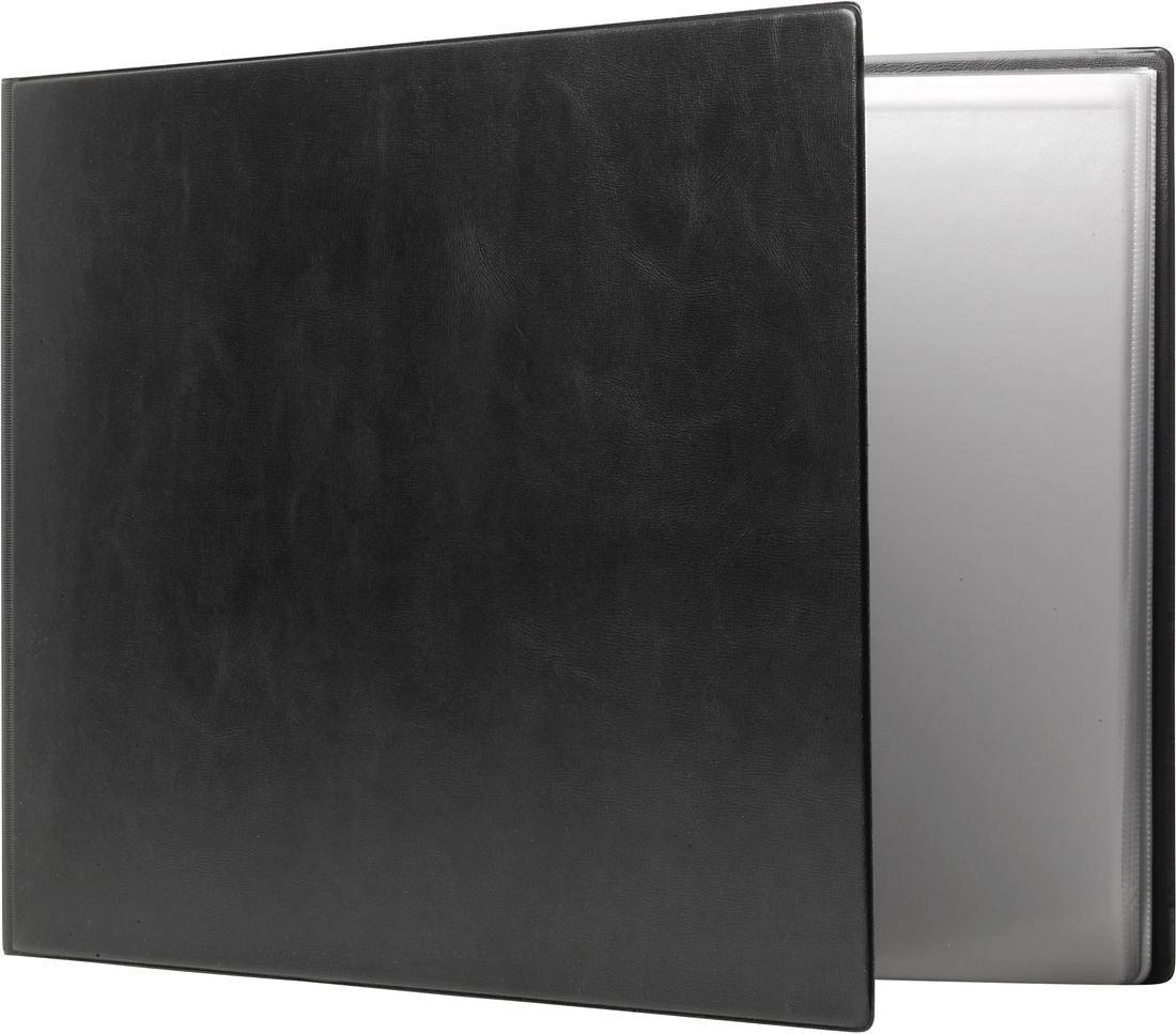 36 Pockets Rexel Nyrex Slimview Display Book A4 Black