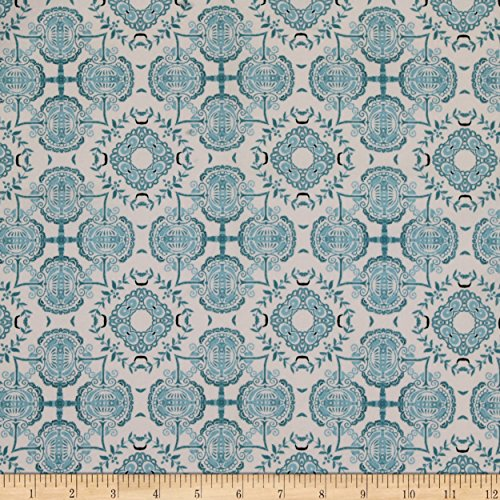 - CAMELOT Fabrics Poetic Toile Blue Fabric By The Yard