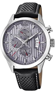 Mens Watch - Festina - F20271/3 - Analog - Quartz - Chronograph - Leather