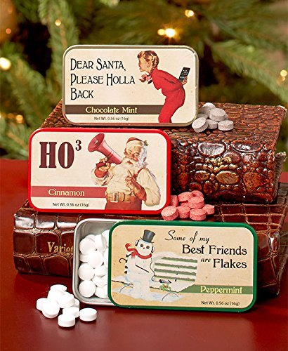 Set of 3 Vintage Humor Novelty Mint Tins ()