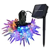 Amazon Price History for:InnooLight Solar Dragonfly String Lights 21 Feet 30 LED Outdoor Christmas Trees Fairy Light, Decoration Lights for Garden, Patio, Proch, Deck, Wedding, Party and Holiday Decorations, Multi Color