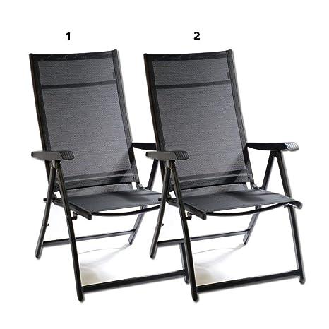 Amazon.com: Silla reclinable para camping, reclinable, para ...