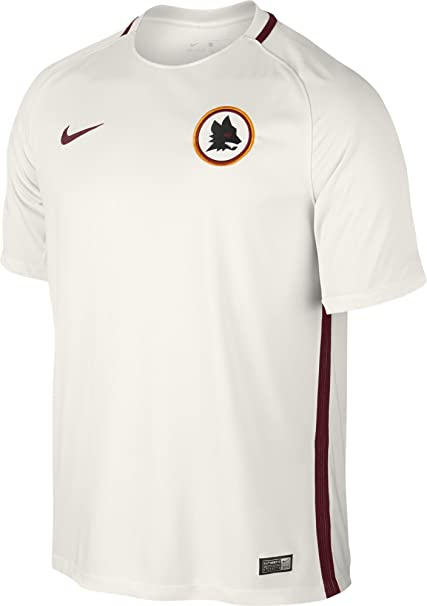43a83b392 Amazon.com   Nike 2016-2017 AS Roma Away Football Soccer T-Shirt ...