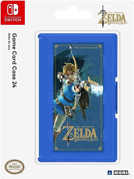 Hori - Estuche de juegos, 24 cartuchos, Zelda (Nintendo Switch): Amazon.es: Videojuegos
