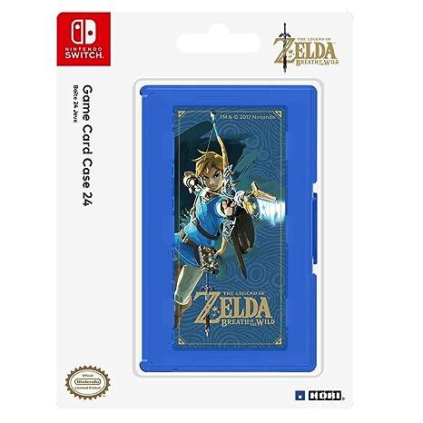 Hori - Estuche de juegos, 24 cartuchos, Zelda (Nintendo ...