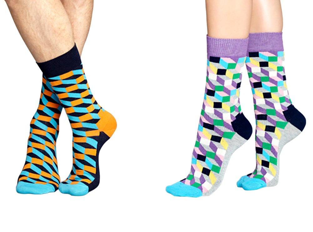 TININNA 1 Par Calcetines Alta de celosía clásico hombre medias de compresión Long Socks baja Socquettes elasticité deporte originales suela, #3, ...