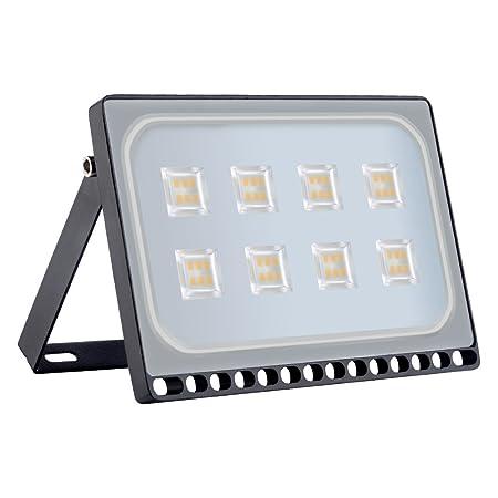 Foco proyector LED 50W para exteriores, resistente al agua IP65 ...