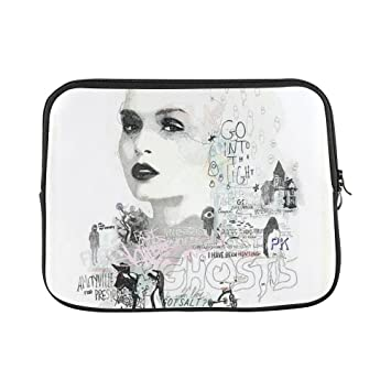 294d0be14c60 Burst DIY Custom Laptop Sleeve Case Cover Bag Graffiti Art Beautiful Girl  Sleeve for Macbook 15.6