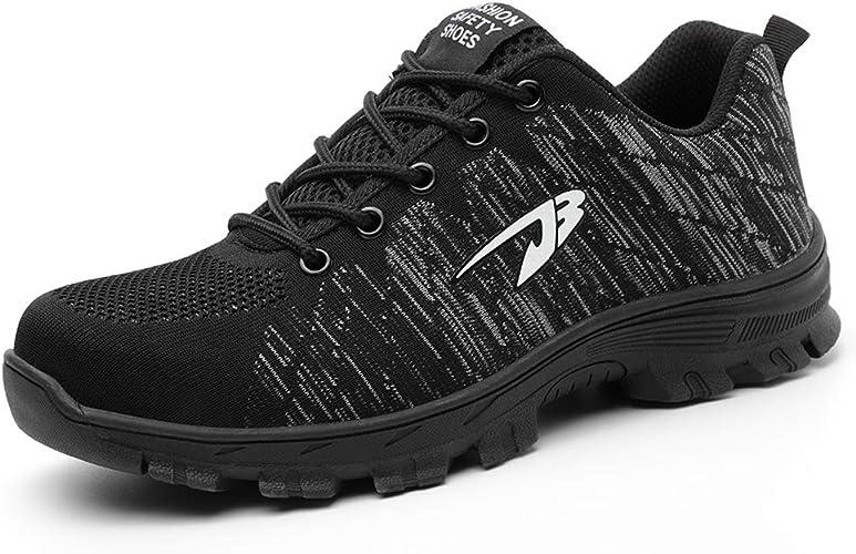Amazon.com: Getch S3 - Zapatos de seguridad para hombre con ...