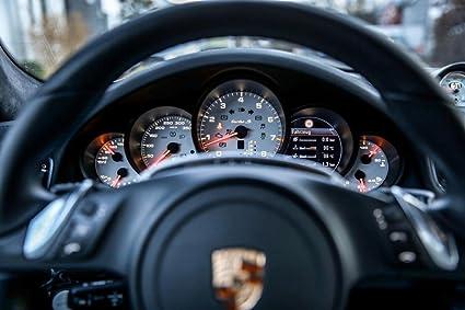 Gifts Delight LAMINATED 36x24 inches Poster: Porsche Turbo S 911 Zuffenhausen Cockpit Steering Wheel Porsche