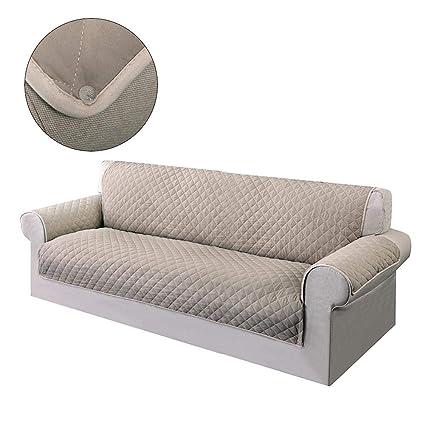 soundwinds Funda para sofá de 1 2 3 4 plazas, Funda Antideslizante para sofá, elástica, Impermeable, Reversible, Funda Protectora para Muebles de sofá ...