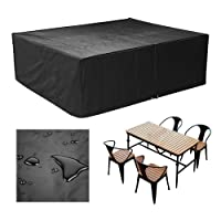 femor Waterproof Outdoor Rattan Cube Set Cover Outdoor Garden Furniture Cover & Chairs Cover