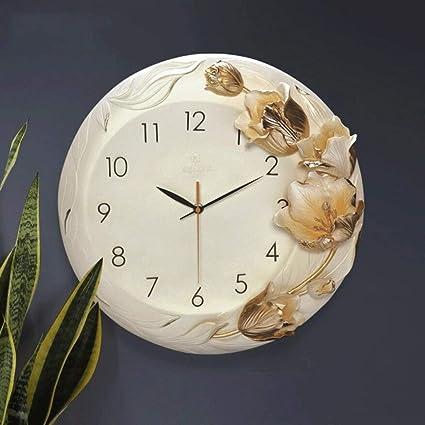 YHEGV Wall Clocks Muebles para el Hogar Relojes of Moda Crea Tivos Reloj De pared Relojes