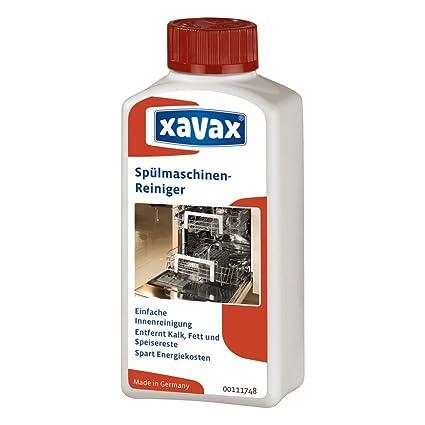Xavax - Limpiador de lavavajillas, 250 ml: Amazon.es: Informática