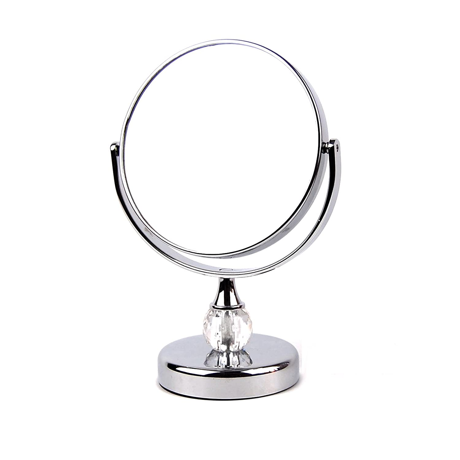 TriProC 5 Inch Portable Mini 1x 3x Magnified Dual-Sided Makeup Vanity Mirror,Cosmetic Mirror TPC-JM882A