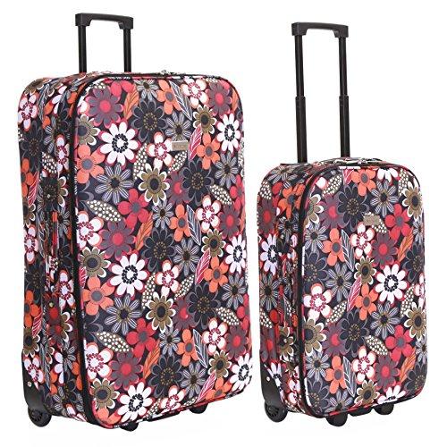 Slimbridge Algarve set di 2 valigie leggeri, Multi