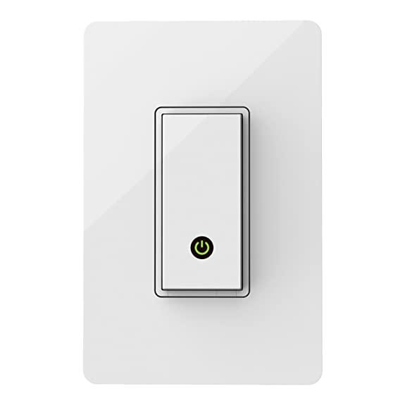 610Qf n7xsL._SX575_ amazon com wemo light switch, wi fi enabled, works with amazon wemo light switch wiring diagram at fashall.co