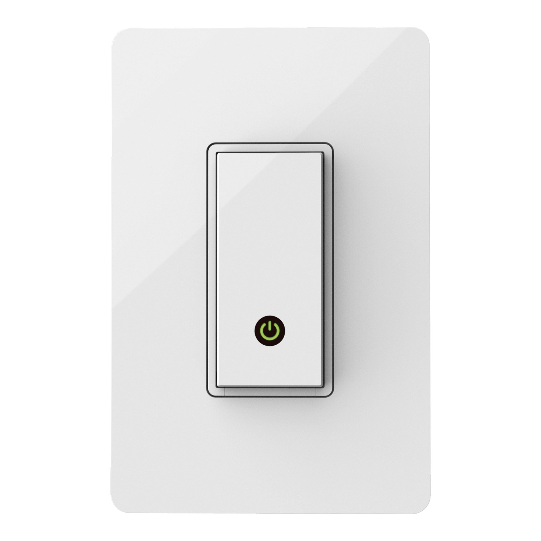 Wemo Light Switch, Wi-Fi enabled, Works with Alexa and Google Assistant