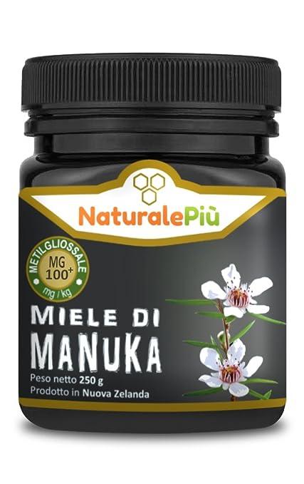 5 opinioni per Miele di Manuka 100+ MGO (UMF 8+) 250 grammi | Prodotto in Nuova Zelanda, Puro e