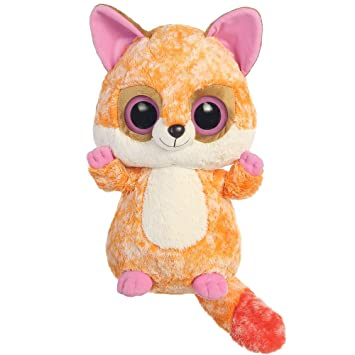 Aurora World Ruby The Mischievous Fox YooHoo and Friends Peluche de Zorro, Grande, Color