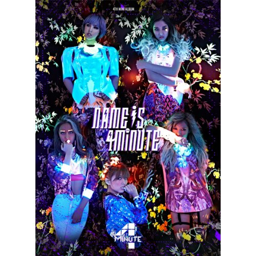 4Minute - Mini Album Vol.4 [Name is 4minute] + Poster in Tube