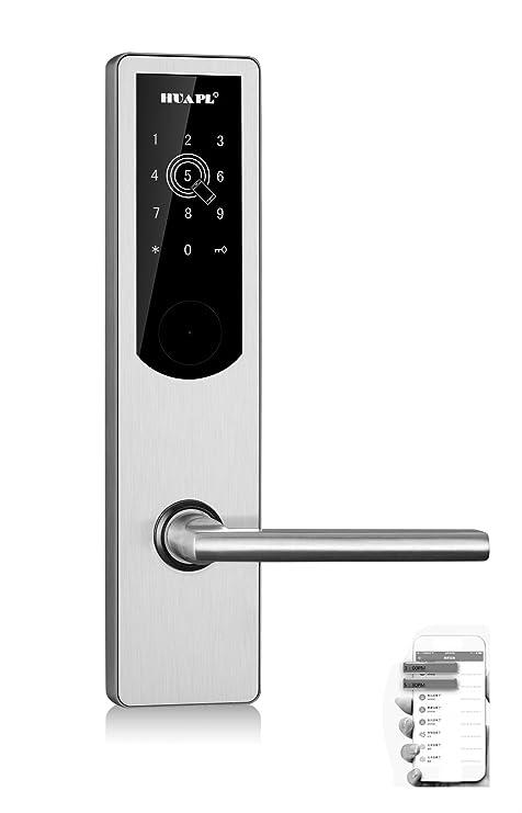 Cerraduras de puerta Bluetooth Cerradura de teclado digital ...