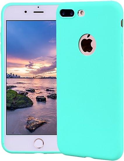Funda iPhone 7 Plus, Carcasa iPhone 7 Plus Silicona Gel, OUJD Mate ...