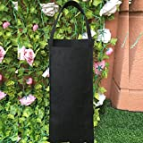 Amgate Garden Strawberry Grow Bag Vertical Wall Hanging Planter ~ for Indoor/Outdoor, Easy to Hang & Fill, Eco-friendly Recycled Materials, Rectangle