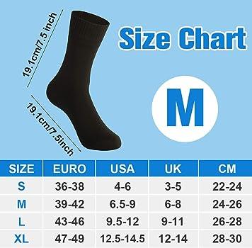 2 Pairs Waterfly Waterproof Socks Breathable Sweat-absorbing Socks for Men Women Trekking Hiking