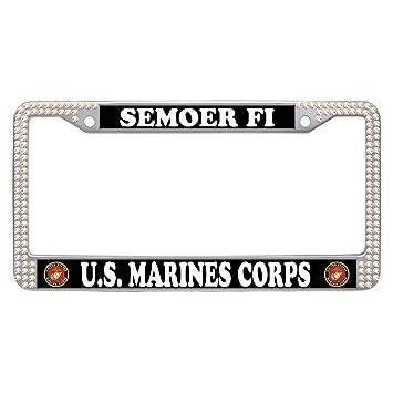 Amazon.com: Dasokao SEMOER FI U.S. MARINES CORPS Personalized ...