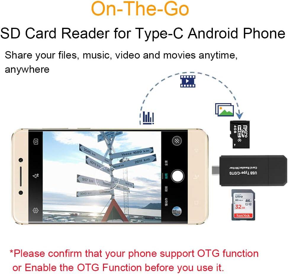 Lector de Tarjetas SD Type C Card Reader: Amazon.es: Informática