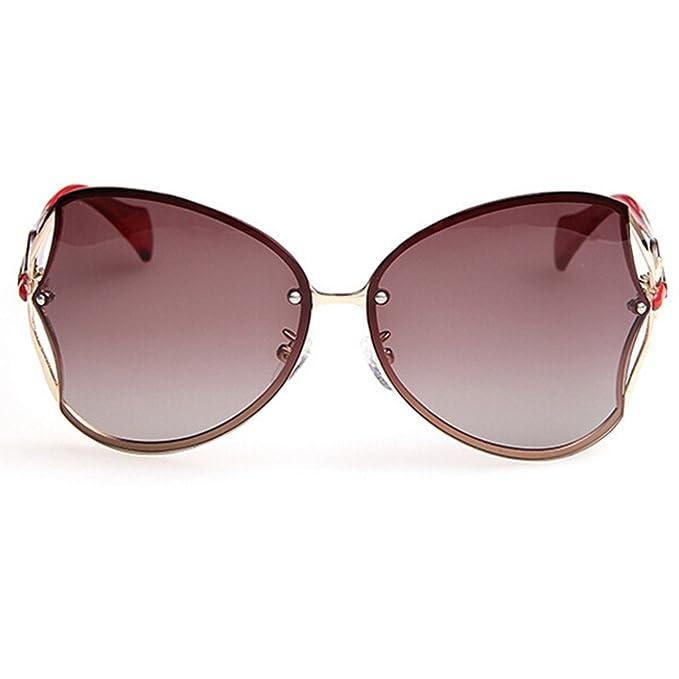Weibliche Polarisierte Sonnenbrille Anti-Ultraviolett Freizeit Fahren Sonnenbrillen,BlackBox
