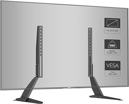 1home Soporte Universal de TV de sobremesa para Monitor con ...