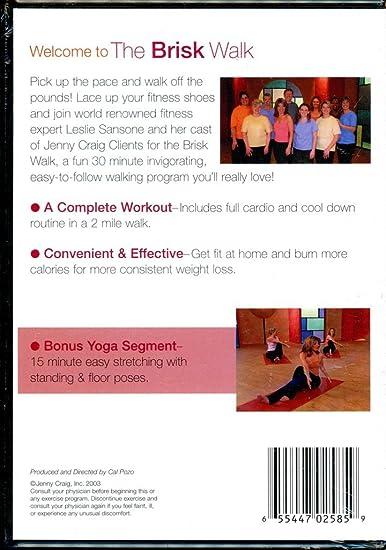 Amazon com: Walk Your Way! The Brisk Walk (with Bonus Yoga
