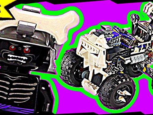 Clip: Lord Garmadon & Skull Truck (Lego Skull Truck)