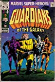 img - for Marvel Super-Heroes #18, Jan. 1969. First Guardians of the Galaxy. All-Winners Squad with Golden Age Captain America, Human Torch and Sub-Mariner book / textbook / text book