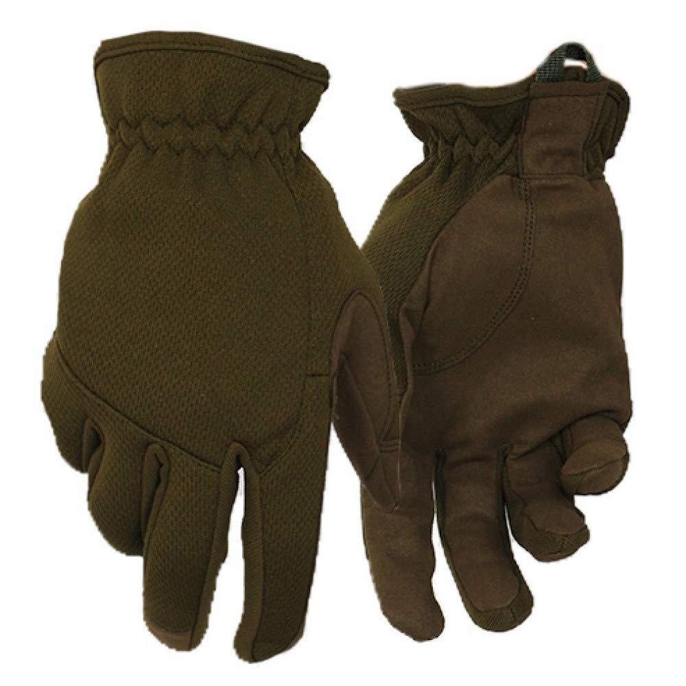 GLOVESCOA Handschuhe Militärische Tactical Shooting Handschuhe Outdoor Camping Motorrad Radfahren Vollfinger   Lederhandschuh