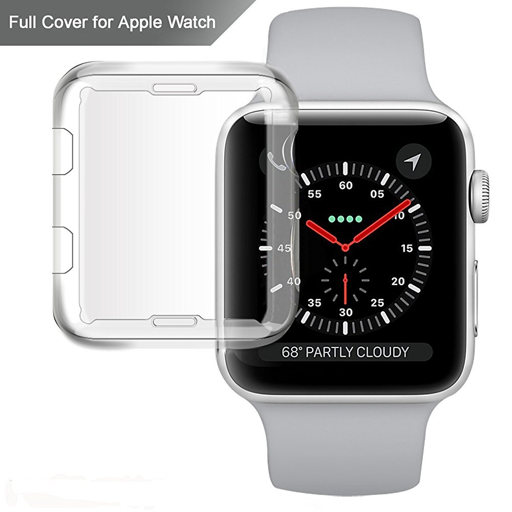 Apple Watch Funda, misxi I Reloj TPU Protector de Pantalla ...