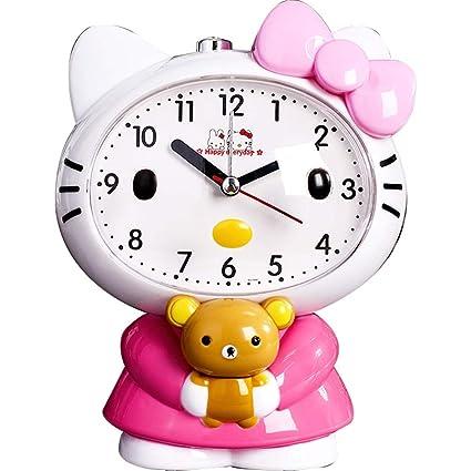 BLWX - Pequeño Reloj de Alarma Reloj Despertador Creativo ...