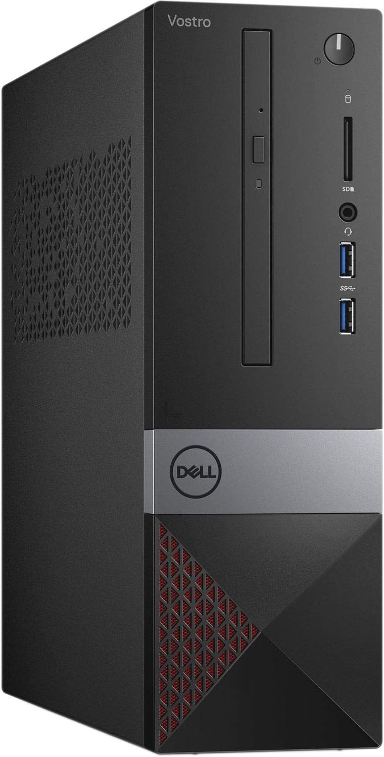 Dell Vostro 3000 Business Small Desktop Computer, Intel Hexa-Core i5-9400 up to 4.1GHz, 16GB DDR4 RAM, 1TB SSD, DVDRW, WiFi, Bluetooth, USB 3.0, HDMI, VGA, Keyboard and Mouse, Windows 10 Pro